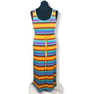 Colorful Cristina Love Sleeveless Maxi Dress Large